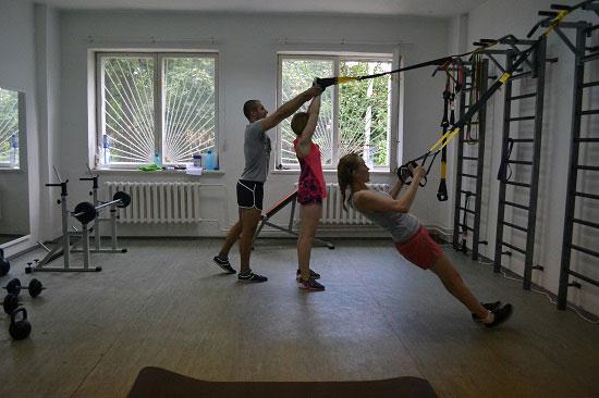 подвесной тренинг